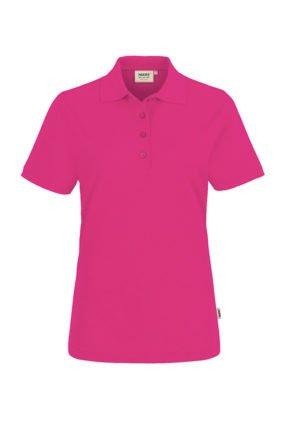Damen-Poloshirt Kurzarm, smaragd
