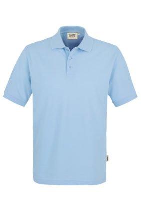 Herren-Poloshirt Kurzarm, grau-meliert