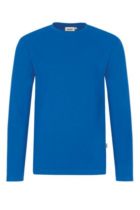 Herren-Shirt Langarm, schwarz