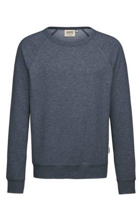 Herren-Raglan-Sweatshirt, tinte meliert