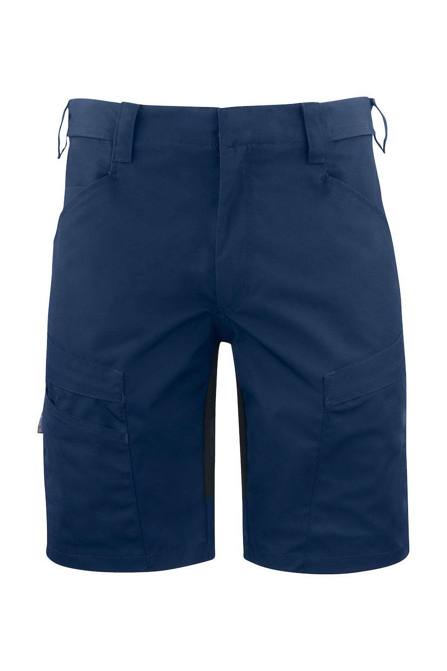 Shorts mit Stretcheinsätzen, schwarz