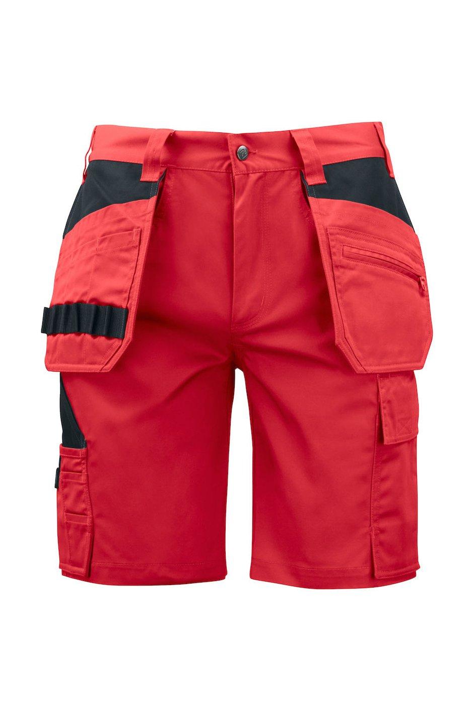Shorts mit Hängetaschen, schwarz