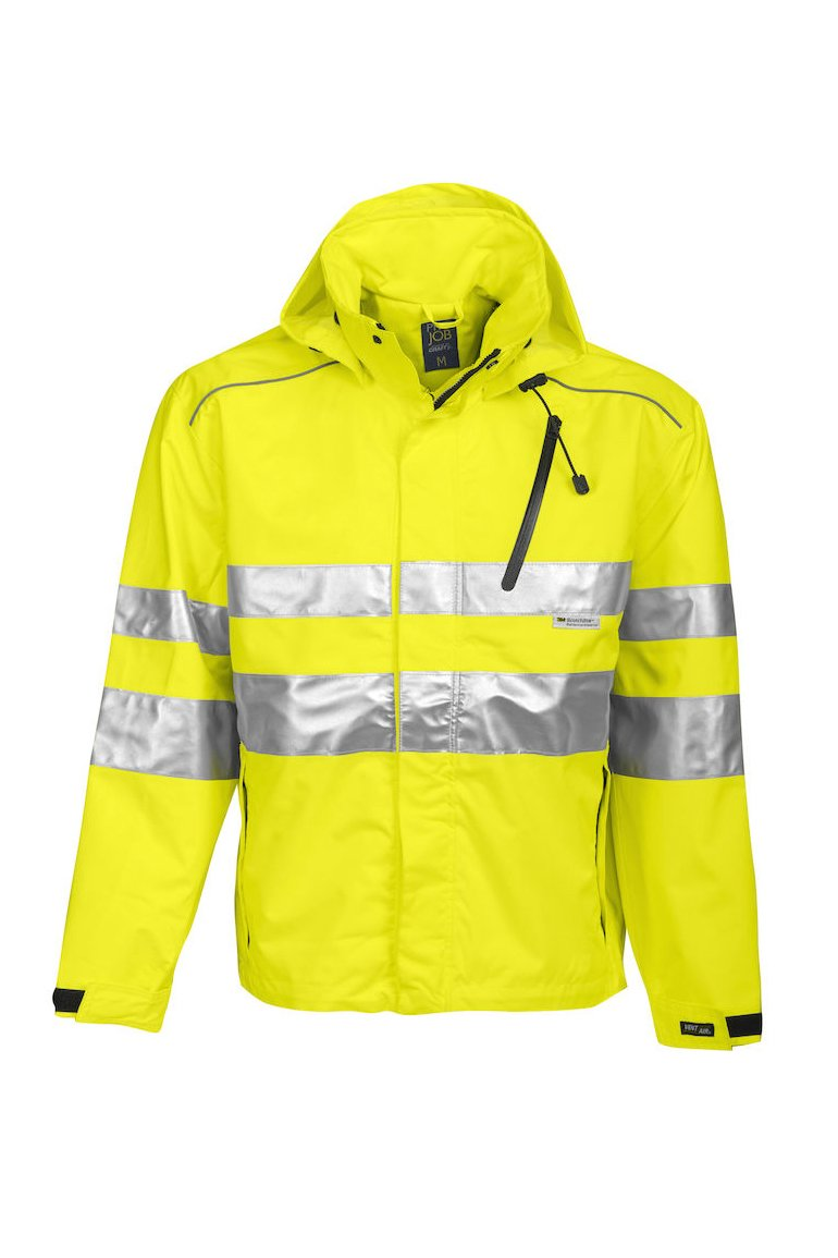 Wind- und wasserdichte Allround Jacke EN ISO 20471 Klasse 3 EN 343/3, orange