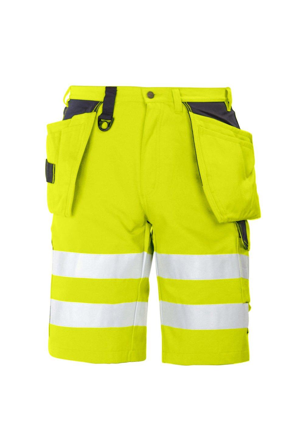 Shorts EN ISO 20471 Klasse 2, orange/grau