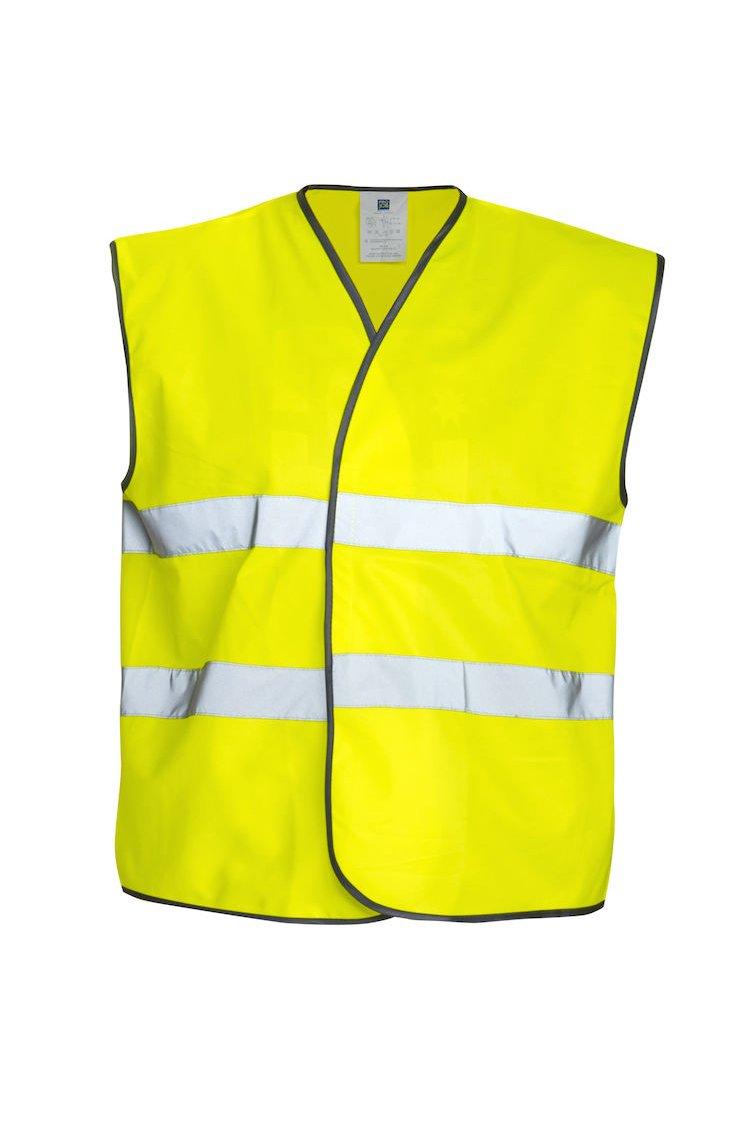 Warnschutz-Weste EN20471 Klasse 2, gelb