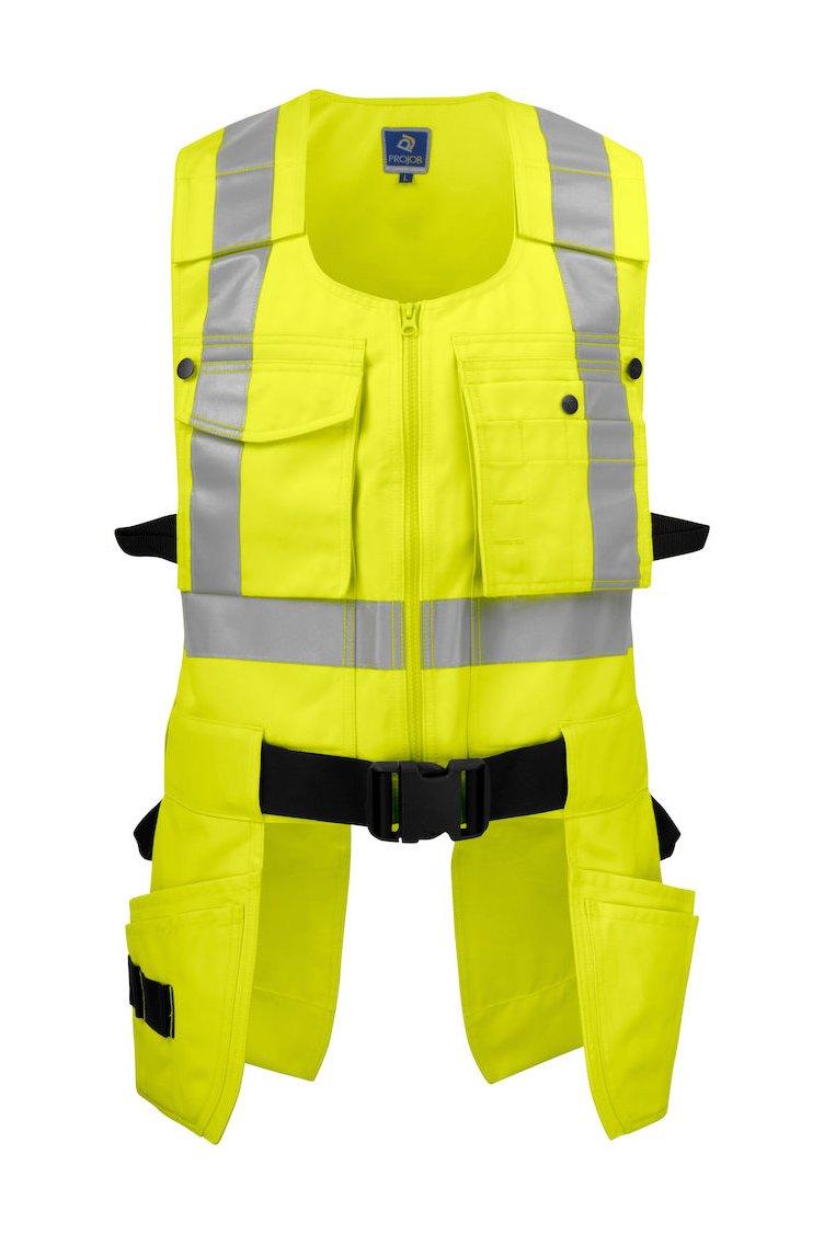 Funktionale Weste EN ISO 20471 Klasse 2, gelb