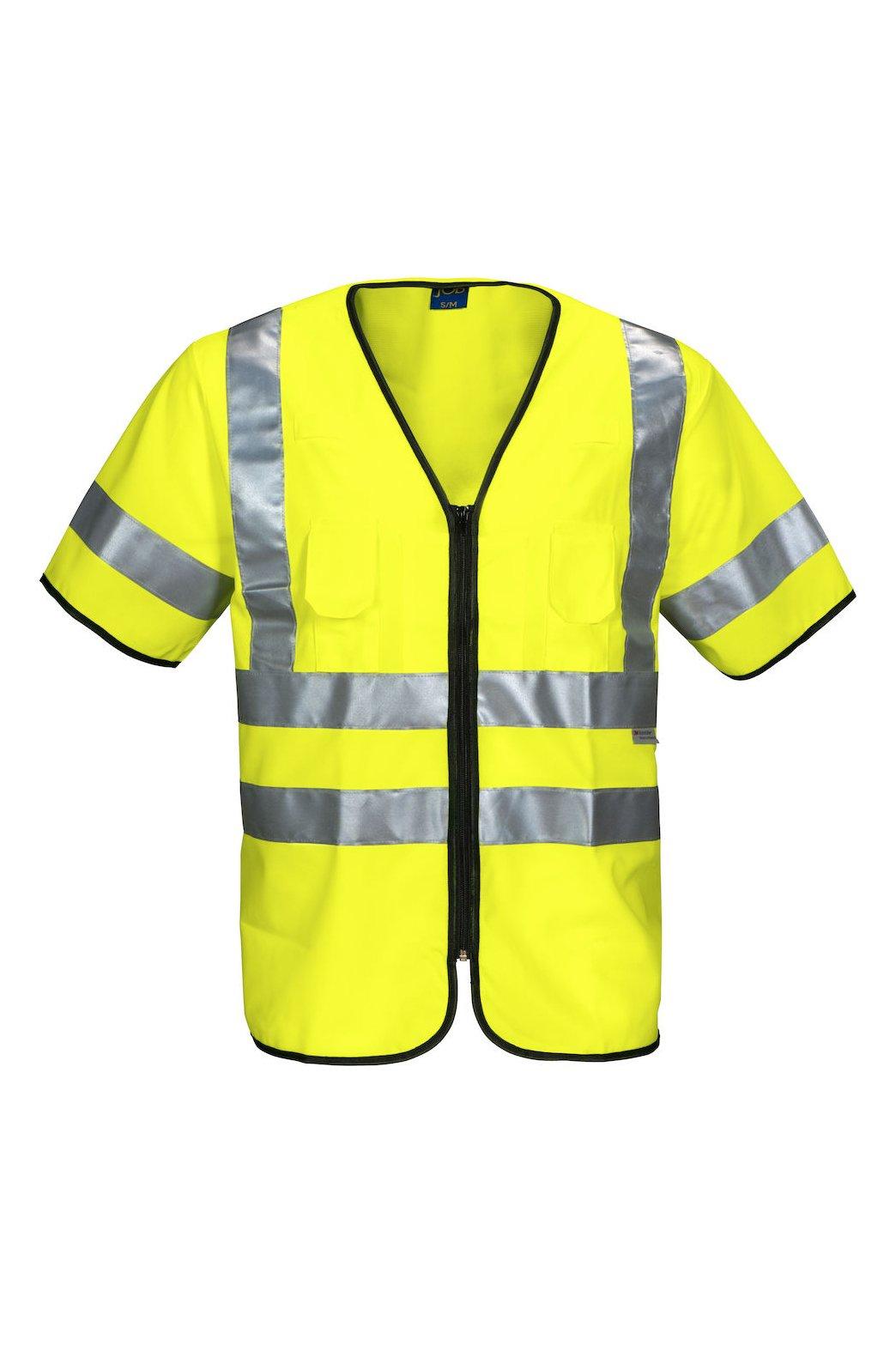 Warnweste EN ISO 20471 Klasse 3, gelb