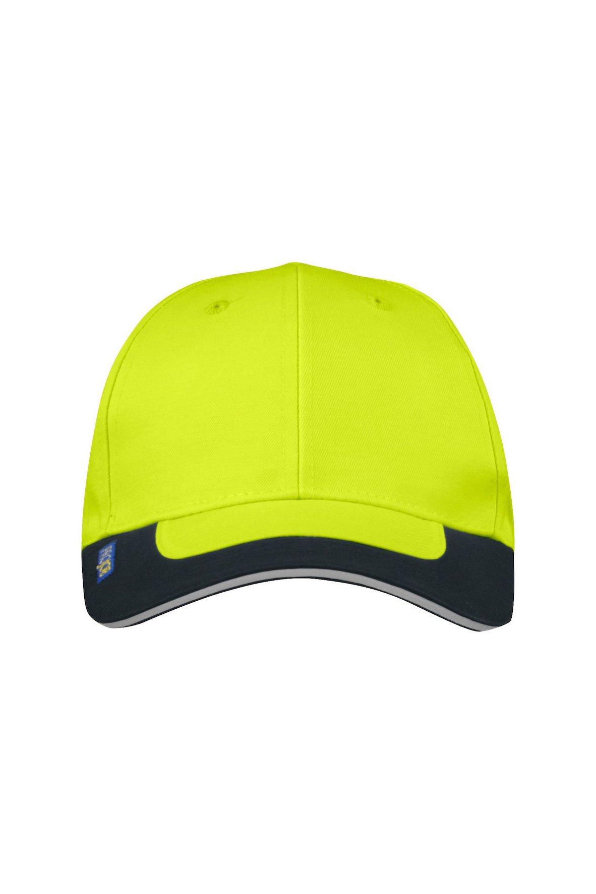 Sicherheits-Cap, gelb/marineblau