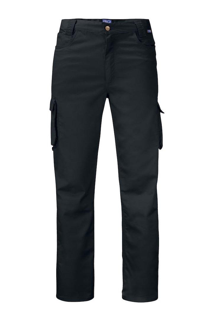 Bundhose mit Cargotaschen, schwarz