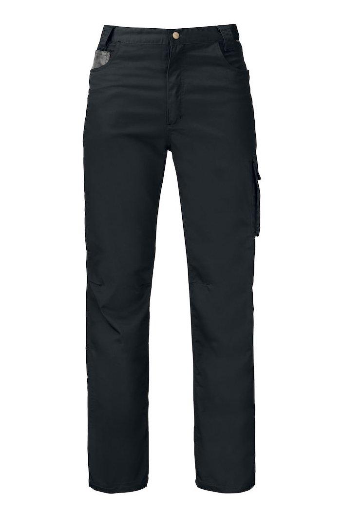 Bundhose mit Kontrastverstärkungen, schwarz