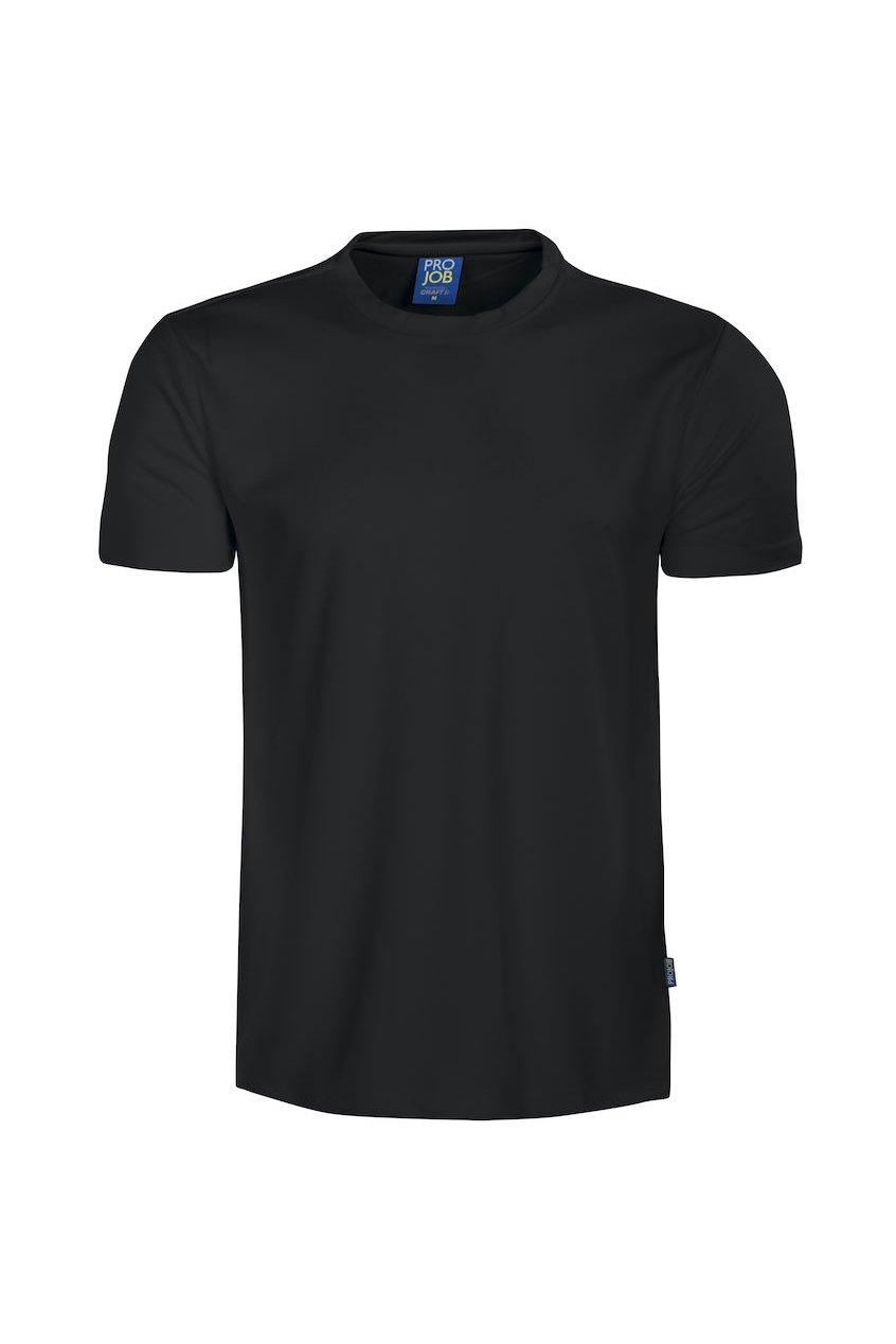 Funktions-T-Shirt, schwarz