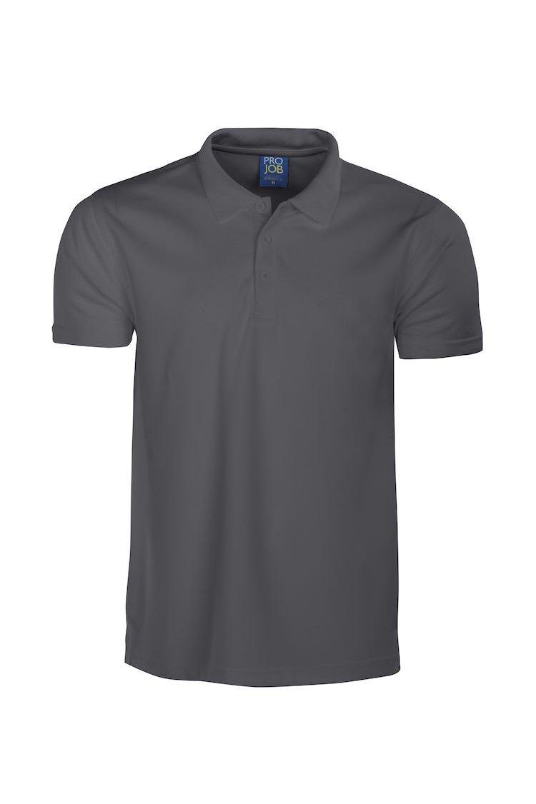 Funktions-Poloshirt, schwarz