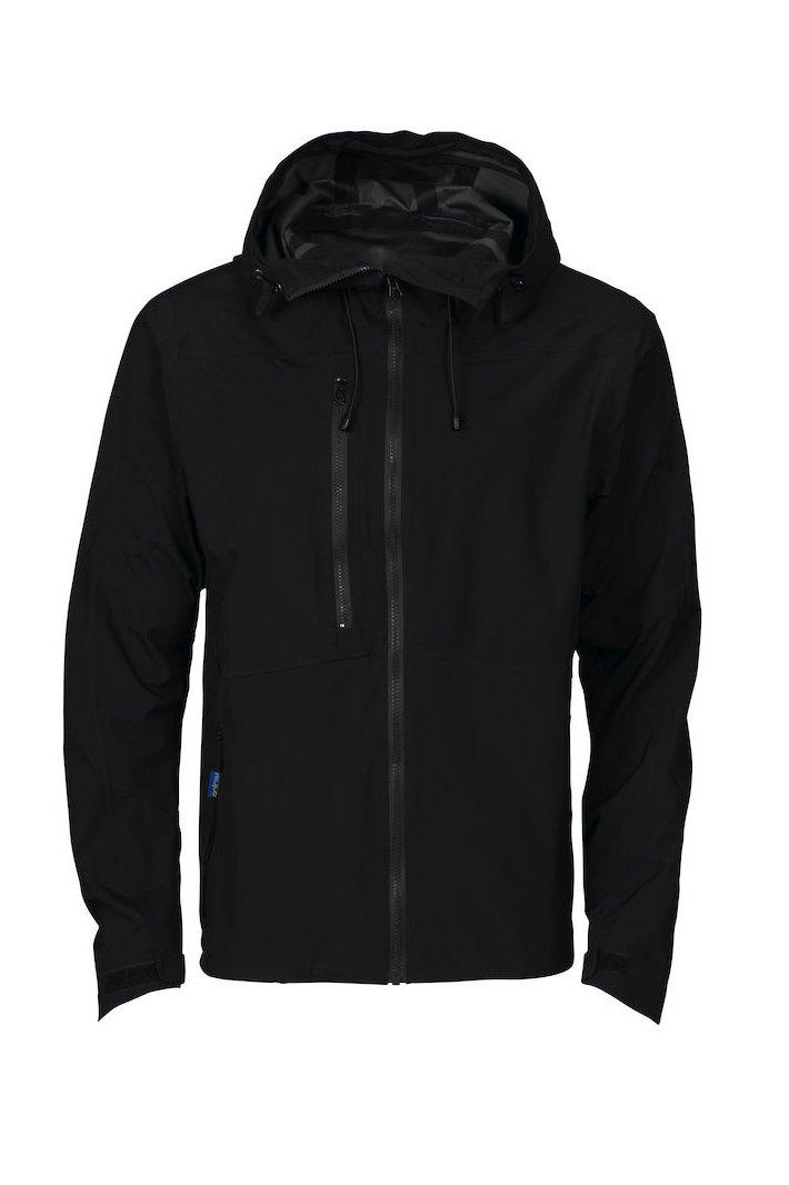 Wasserdichte Jacke, schwarz