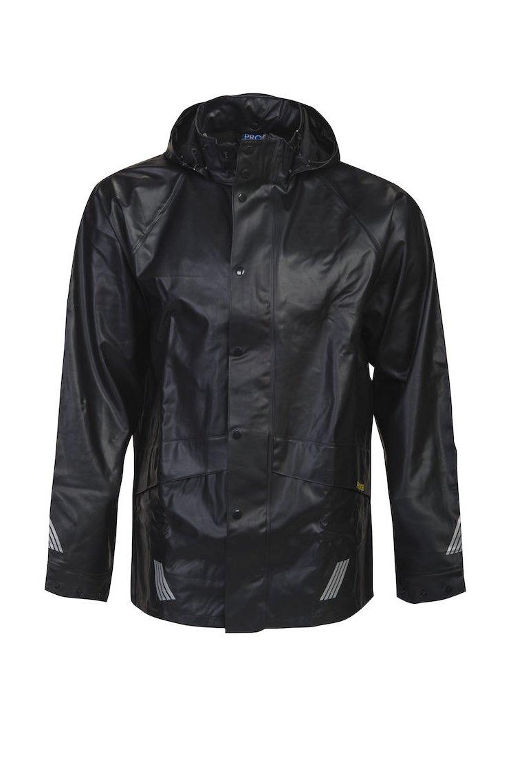 Regenjacke, schwarz