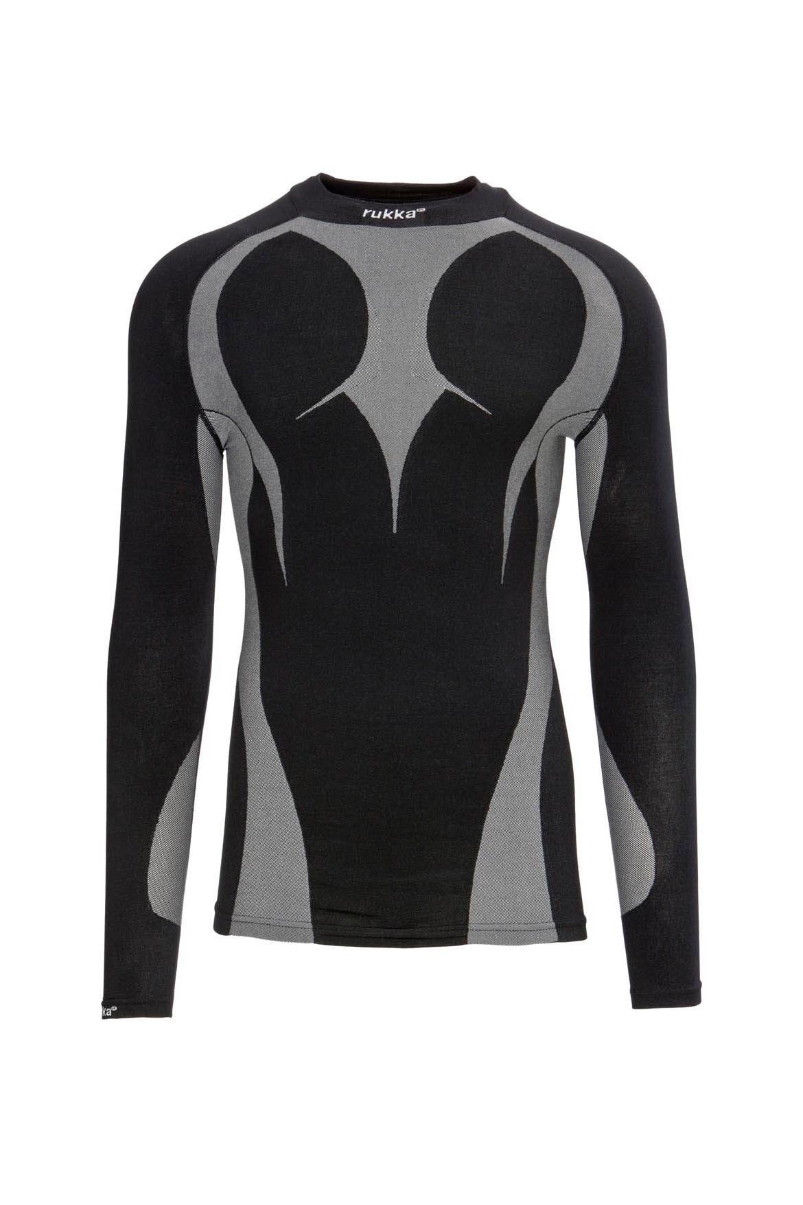 Thermoshirt, schwarz