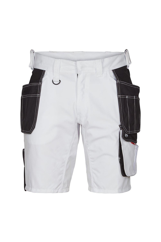 Shorts mit Holstertaschen, weiss/anthrazit