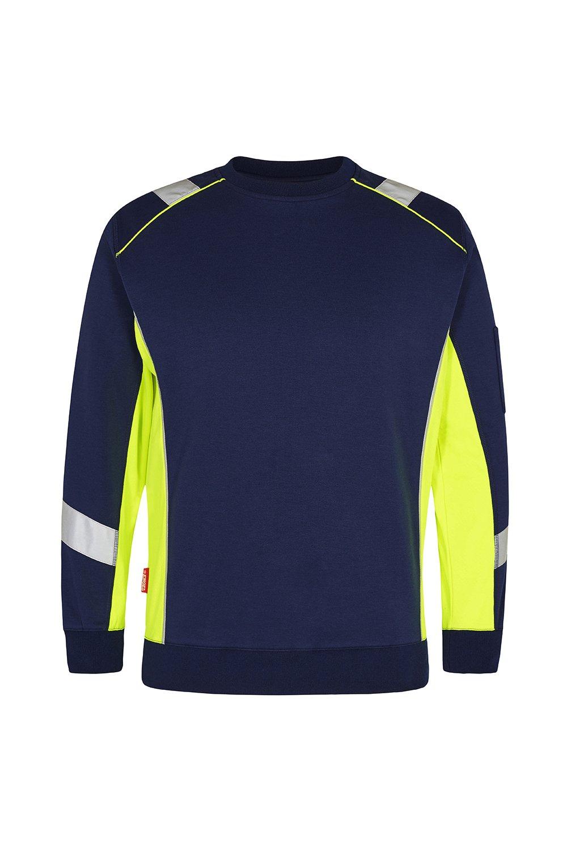 Sweatshirt, schwarz/grün