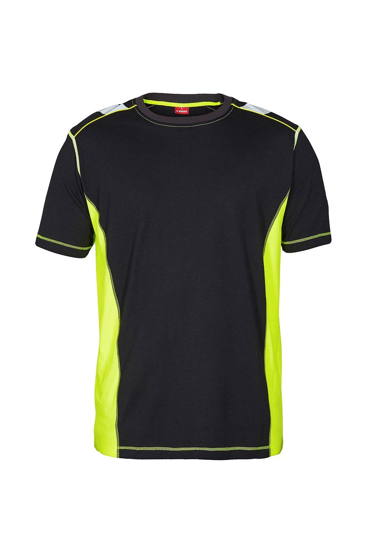 T-Shirt, schwarz/grün