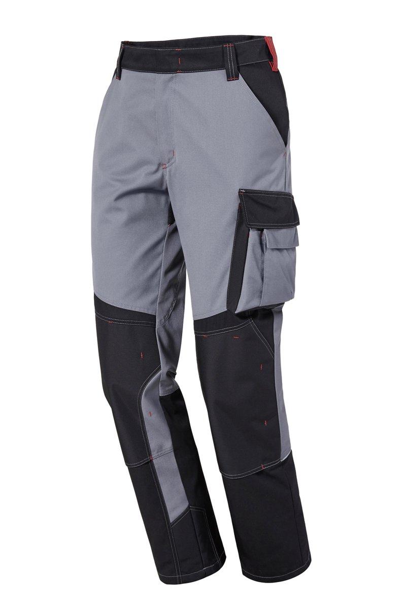 Bundhose, schwarz/grau