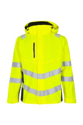 Shelljacke EN ISO 20471, orange/grün