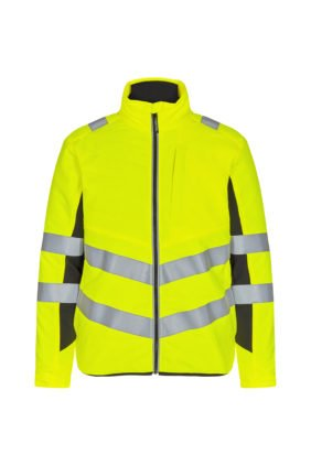 Steppjacke EN ISO 20471, orange/grün