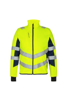 Jacke ENISO 20471, gelb/tintenblau