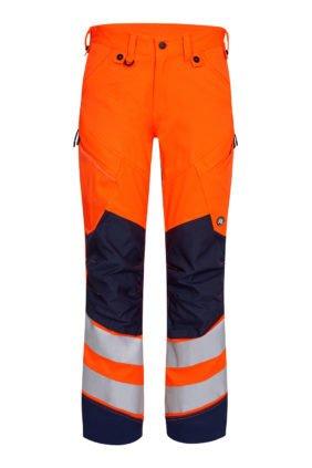 Hose EN ISO 20471, orange/grün