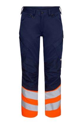 Hose EN ISO 20471, grün/orange
