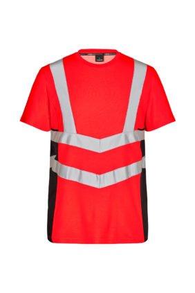 T-Shirt kurzarm EN ISO 20471, orange/grün