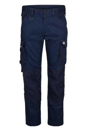 Handwerkerhose aus Stretch, tintenblau