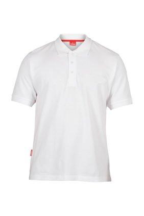 Poloshirt, weiss