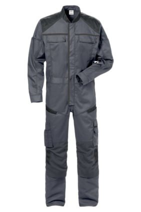 Arbeitsjacke, khaki/schwarz
