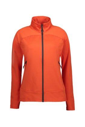 Herren-Cardigan, orange