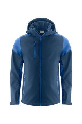 Herren-Softshelljacke, blau/navy